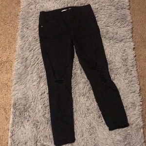 Old Navy stretch waist band Rockstar jeggings